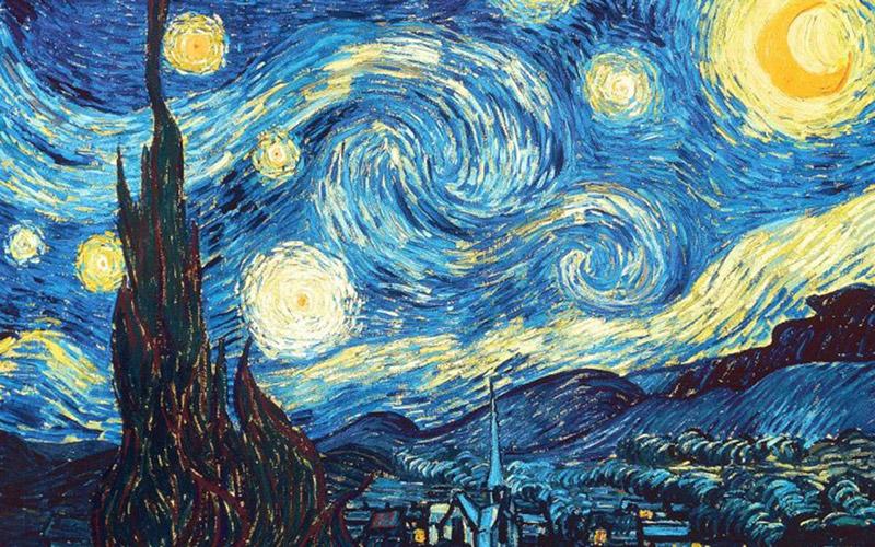 Noite-Estrelada-–-Vincent-Van-Gogh