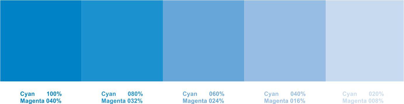 Azul roxo 100 e 040